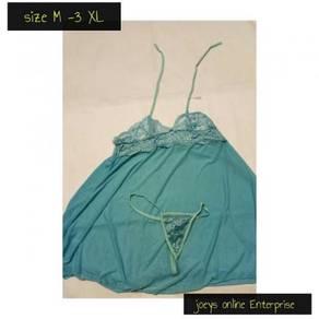 Plus size lace lingerie