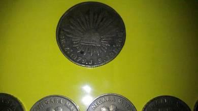 Syiling lama tahun 1879,1967 hingga 1997