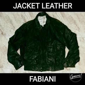 Jacket Leather Fabiani