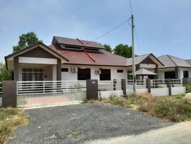 Rumah Semi D Sederhana Mewah Design Terkini Di Telong Bachok