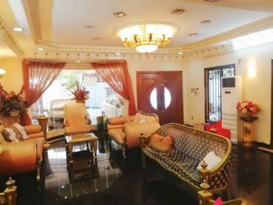CANTIK FULLY RENO CORNER 2 Storey Ampang Jaya for Sale