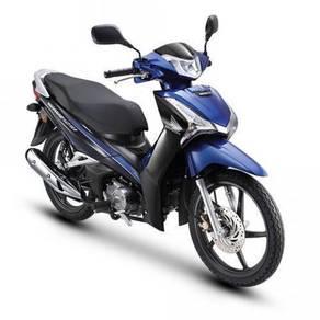 Honda Wave 125 Fi -D/Disc-NewFacelift- 90% Credit