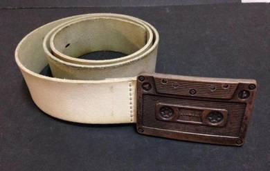 TOPMAN Real Leather Belt