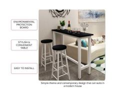 Two Stools Coffee Bar Table