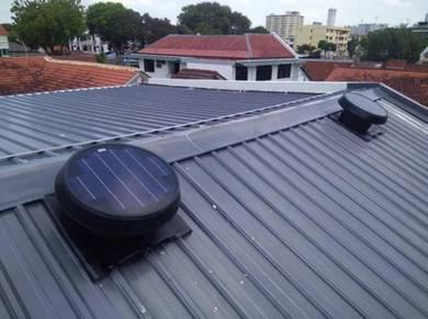 GERMANY * FA Solar Power Roof Attic Ventilator Fan