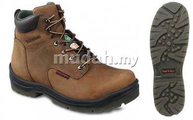 Safety Shoes Red Wing Men 6Inch Brown PR ST 3535