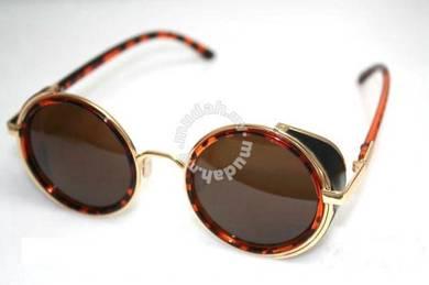 New Star Men Retro CIRCLE ironman sunglasses