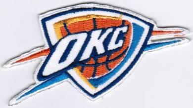 NBA Oklahoma City Thunder Basketball Badge Patch