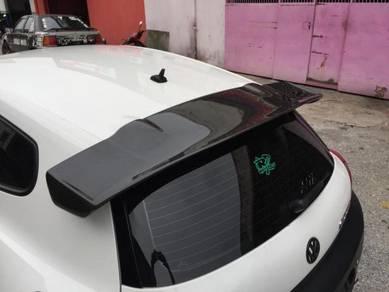 Volkswagen Scirocco R spoiler scirocco R bodykit