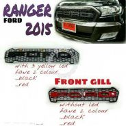 Ford ranger T7 front grille with ford word 15/16
