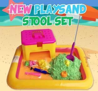 New Playsand (Kinetic Sand) Stool Set inc. Pos