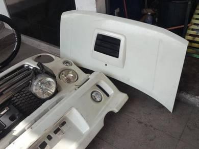 Bumper depan l9rs turbo for kenari