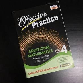 Additional Mathematics Form 4 SPM Revision Book