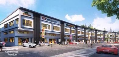 New 2 Storey shop office(22'X70')Near JIT SIN II School ;Simpang Ampat