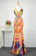 Summer colorful prom dinner dress gown RBP0365
