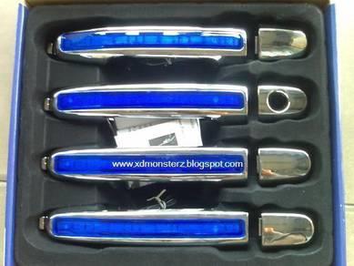 Door handle chrome with led myvi alza vios camry