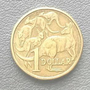 Australian One Dollar Coin 1984