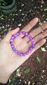 Bracelet beads bercorak dan berwarna