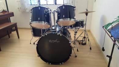 Drum Set Piano black