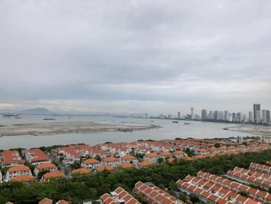 Marinox Sky Villa , 1450sf , fully sea view , 2 cp , high flr