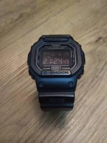 CASIO G-Shock DW 5600 MS (matte black)