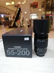 Fujifilm xf 55-200mm f3.5-4.8 r lm ois lens