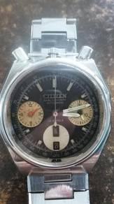 Vintage citizen chronograph watch