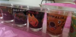 Small glasses for personal collection or as gift