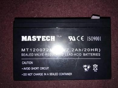 Mastech 12v 7.2ah/20hr