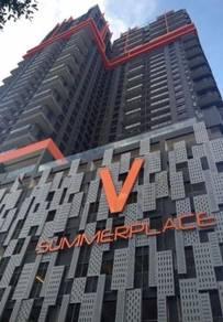 Full RENO + Furnished Service Apartment V Summerplace Johor Bahru
