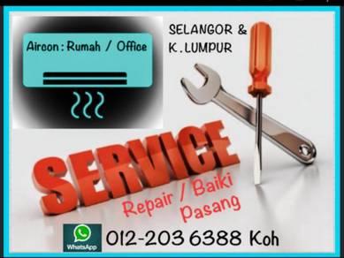 Air cond PRO Servicing Aircond KL/SEL Air con
