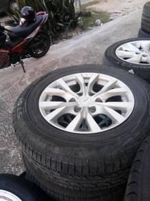 Mitsubishi Triton original sport rim 17 inch tyre