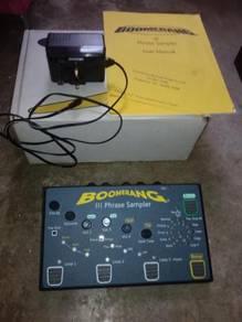 Boomerang III Looper Phrase Sampler - efek gitar