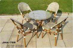 Outdoor chair & table set