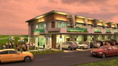New Properties at Inanam kiansom, Corner unit