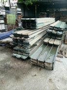 Zinc metal deck used