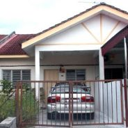 Batu Gajah, Single storey terraced house