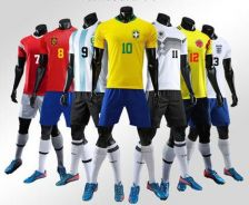 World cup jeseys sport wear customized logo and nu