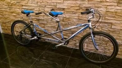 0% GST Tandem Bicycle Basikal Ringan 21S- Factory