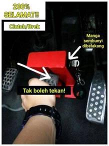Pedal Lock Car Anti Theft Device