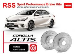 Toyota Altis 2014-16 RSS Sport Disc Brake Pad Kit