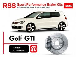 Volkswagen Golf GTI MK6 RSS Sport Disc Brake Pad