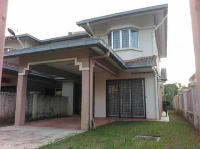 [[end lot furnished]] murahh u12 double storey near seksyen 7 s.alam