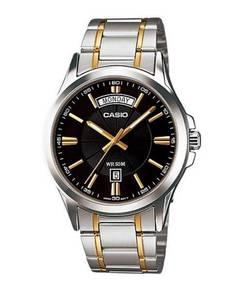 Casio Men Stainless Steel Watch MTP-1381G-1AVDF