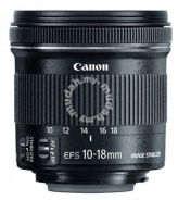 NEW Canon EF-S 10-18mm IS STM Wide Angle Zoom Lens