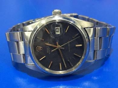 Rolex Precision ref 6694 Black Gilt Dial