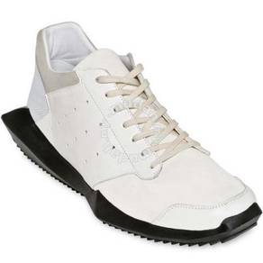 Shoes sneakers white leather Rick owens