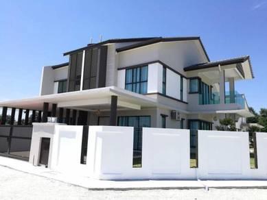 New 2 Storey Link House Modern Design Sungai Soi Tanjung Lumpur