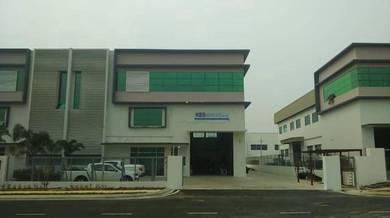 Semi-D Factory At Kawasan Perindustrian Kampung Maju Jaya For Sale
