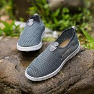 0265 Grey Sports Casual Men Breathable Water Shoes